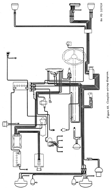 1954 willys jeep wiring diagram  1954  free engine image